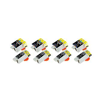 RudyTwos 4x Replacement for Kodak 30B 30C Set Ink Unit Black & Tri-Colour Compatible with ESP C100, C110, C115, C300, C310, C315, C330, C360, 1.2, 3.2, 3.2S, Office 2100, 2150, 2170 AIO, Hero 2.2, 3.1