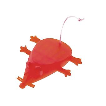 Little Mouse Shape Silicone Door File Red
