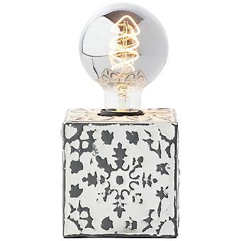 BRILLIANT Lampada da tavolo VAgos 10cm lampade interne crema,lampade da tavolo,-decorative 1x A60, E27, 60W, adatto per lampade normali