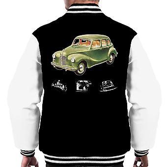 Austin X Ray Interior British Motor Heritage Men's Varsity Jacket