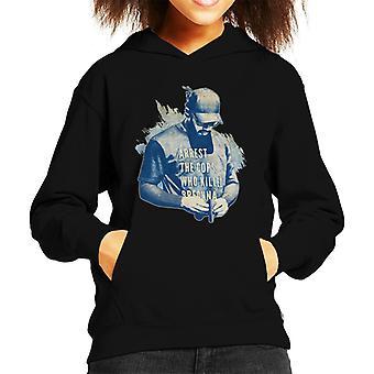 Motorsport Images Lewis Hamilton On The Grid Kid's Hooded Sweatshirt
