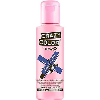 Renbow Crazy Color Semi Permanent Hair Dye - Sapphire 100ml