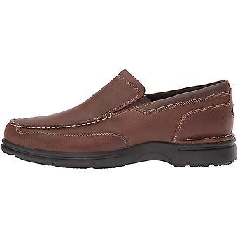 Rockport Men's Shoes Eureka plus slip on Leather Closed Toe Slip On Shoes