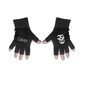 Misfits Gloves Band Logo and Fiend Jarek new Official Fingerless Black