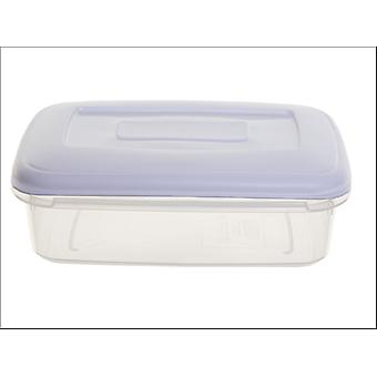 Whitefurze Food Storage Box with Lid 0.8L F0410