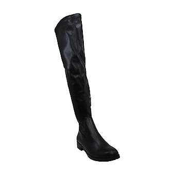 Bar III Femeiăs Pantofi Taimi Piele De migdale Toe Peste Genunchi Cizme de moda