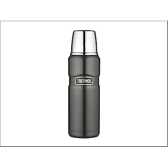 Thermos King Flask Stainless Steel Gunmetal 470ml 105032