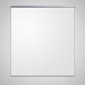 Blackout roller blind 140 x 230 cm white