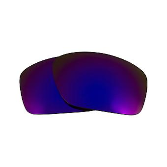 Polarized Replacement Lenses for Oakley Scalpel Sunglasses Anti-Scratch Purple