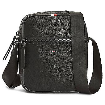 Tommy Hilfiger Essential Mini Reporter Unisex Classic Side Bag in Black