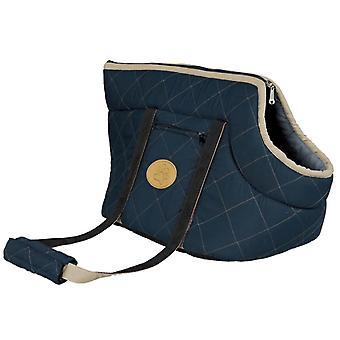 الكلب حقيبة فيكتوريا 50 × 26 سم البوليستر الأزرق الداكن