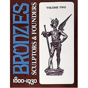 Bronze: Billedhuggere og grundlæggere, 1800-1930