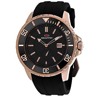 Seapro Men's Force Black Dial Watch - SP0515