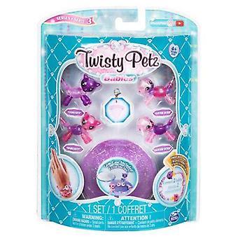 Twisty petz 6044224 babies glitzy bracelets, 4 pack set, mixed colors(styles may vary)