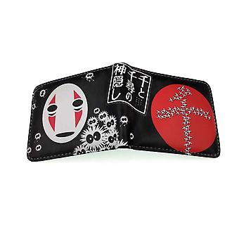 PU leather Coin Purse Cartoon anime wallet - Spirited Away #503