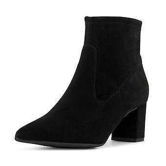 Peter Kaiser Bassy Sock Boot In Black Suede