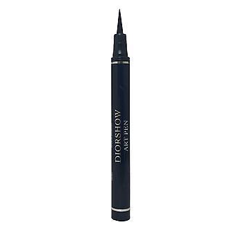 Christian Dior Diorshow Art Pen Eyeliner Filz Tip lang anhaltend 1,1ml Catwalk schwarz #095 -Box Unvollkommen-