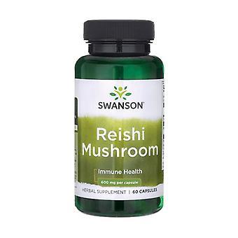 Premium reishi mushroom 600 mg 60 capsules of 600mg