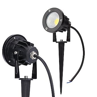 3w 5w 7w 9w Outdoor Cob Garden Light - 220v 110v Led Lawn Lamps