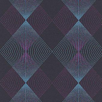 Erismann Blue Purple Black Diamond