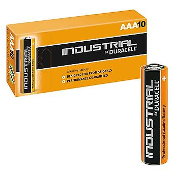 Duracell Non-rechargeable Industrial Battery, AAA - 10 Pack