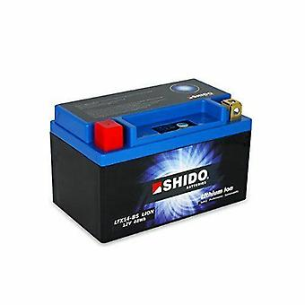 Shido Motorcycle Lithium Iron Battery LiFePO4 12V 4Ah 1 1kg 150x87x143mm