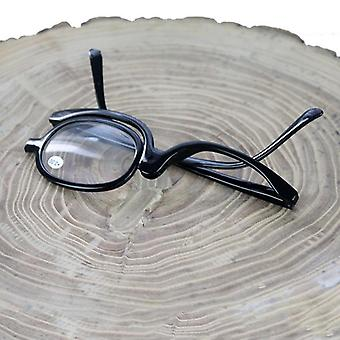 Zilead Magnifying Glasses Rotating Makeup Reading Glasses Folding Eyeglasses