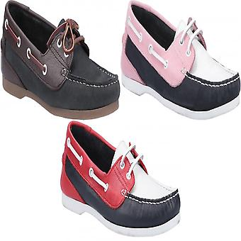 Riva Womens/Ladies Palafrugell Leather Boat Shoes