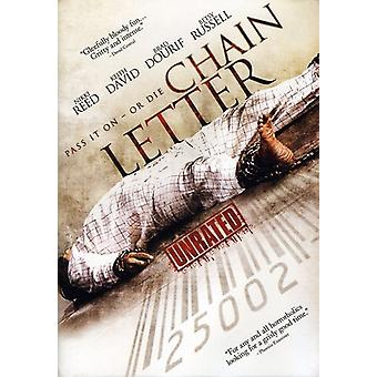 Chain Letter [DVD] USA import