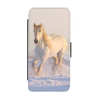 White Horse iPhone 12 Mini Wallet Case