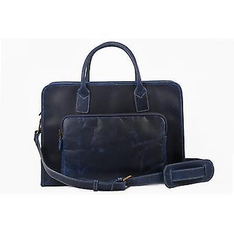 The ballmer executive leather briefcase