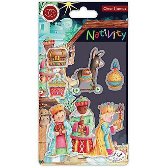 Craft Consortium Nativity Clear Stamps Three Wise Men
