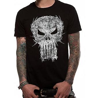 Marvel Punisher - Shatter Skull T-Shirt