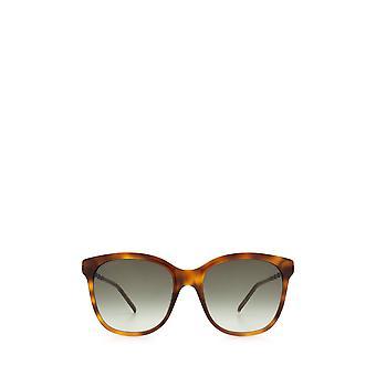Gucci GG0654S havana unisex Sonnenbrille
