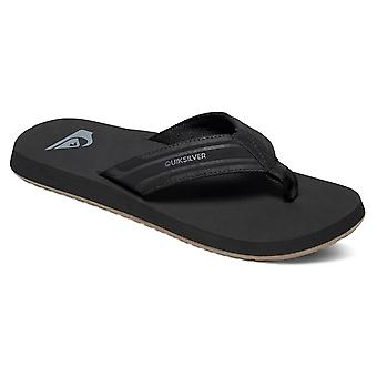 Quiksilver Mens monkey wrench Slip On Open Toe Flip Flops