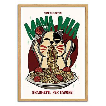 Art-Poster - Mama Mia - Rafa Gomes