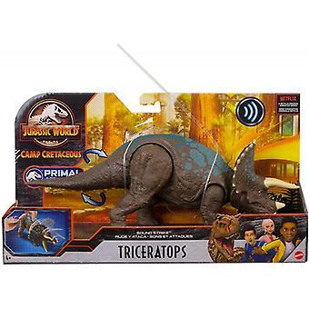 Triceratops (Jurassic World) Sound Strike Dinosaur Figure