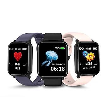 R16 Bluetooth Blutdruck Runde Smartwatch, wasserdichte Sport Tracker