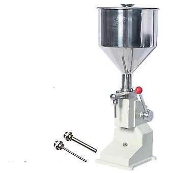 Nový ruční plnicí stroj (5 ~ 50 ml) pro plnění krémového šamponu