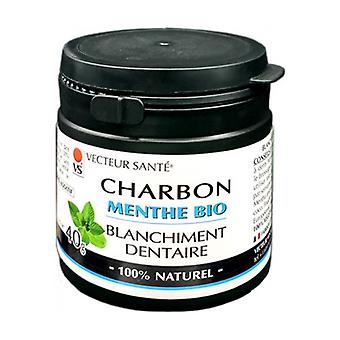 Organic Mint Mint Whitening Charcoal 40 g