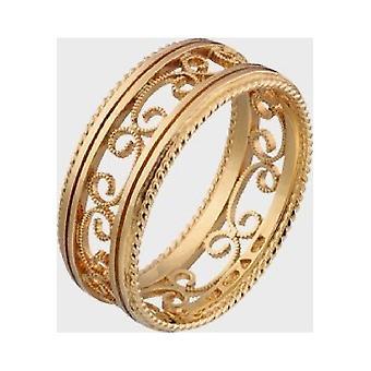 Kalevala Ring Damen Filigree 14K Gold  1407550225 Ringweite 71