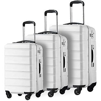 3 Piece Set Family Suit Rolling Travel Luggage