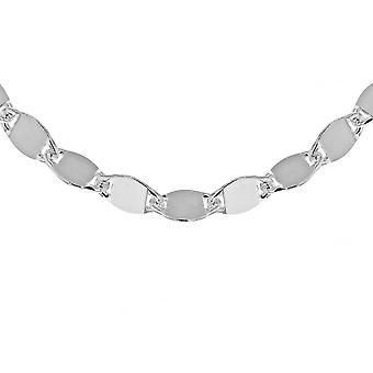 """Eternity Sterling Silver 18"""" Mirror Gucci Style Chain"""