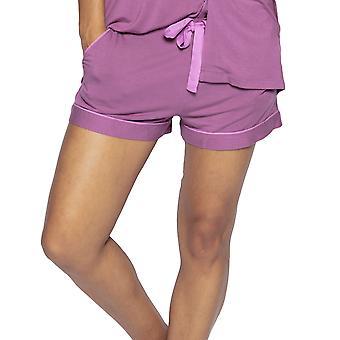 Cyberjammies Aimee 4832 Dames Aubergine Modal Pyjama Short