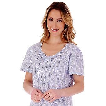 Slenderella ND77113 Women's Paisley Nightdress