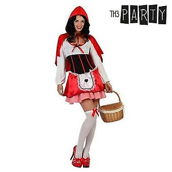 Costume for adults little red riding hood (3 pcs)
