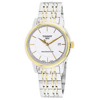 Tissot Men's Powermatic White Dial Watch - T0854072201100