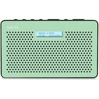 DZK Gemini FM DAB Digital Radio with Sleep Timer Portable Radio, LCD Screen & Headphone