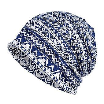 Geometric Pattern Fitness Warm Hat