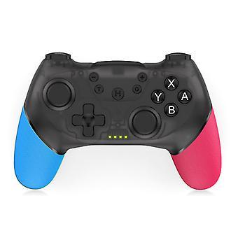 Controller til Nintendo Switch, Wireless Switch Pro Controller med NFC, Turbo, Dual Motor Vibration, 6-Axis Gyro, Ergonomisk skridsikker spilleenhed til Switch Console (sort)